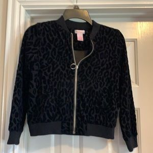 Girl's Design History black Jacket, Size M